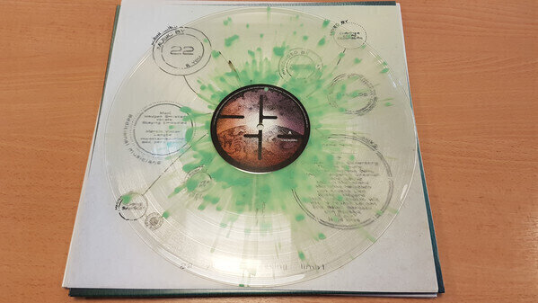 22 You Are Creating: Limb1 (Clear w/Green Spots Vinyl)