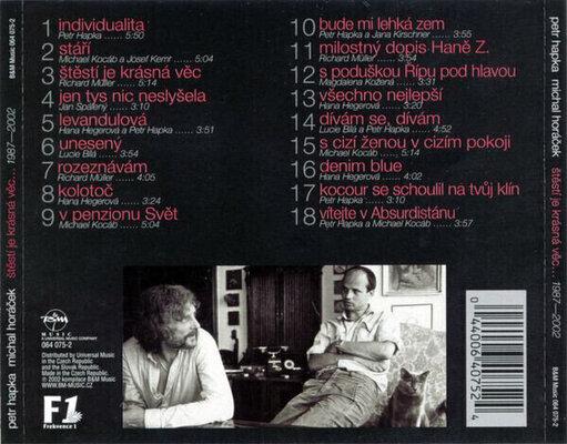 Hapka & Horáček Štěstí je krásná věc (2 LP)