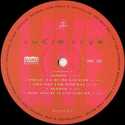 Lucie Live I. (Vinyl LP)