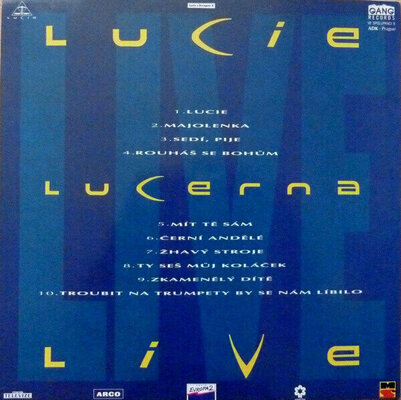 Lucie Live II. (Vinyl LP)