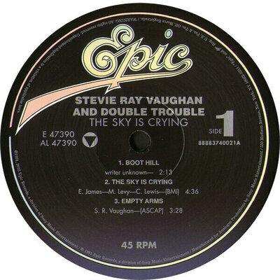 Stevie Ray Vaughan Texas Hurricane (12 LP Box Set)