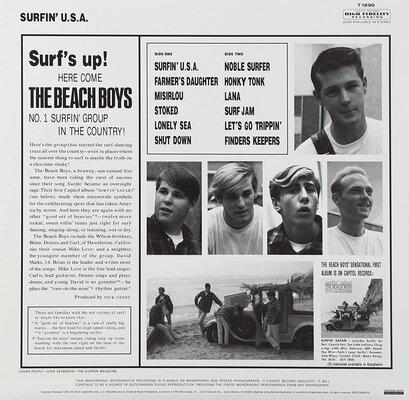 The Beach Boys Surfin' USA (Mono) (Vinyl LP)