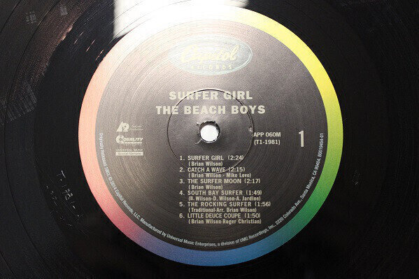 The Beach Boys Surfer Girl (Mono) (Vinyl LP)