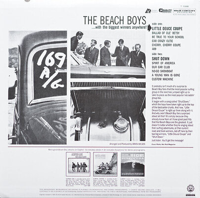 The Beach Boys Little Deuce Coupe (Mono) (Vinyl LP)