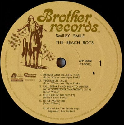 The Beach Boys Smiley Smile (Mono) (Vinyl LP)