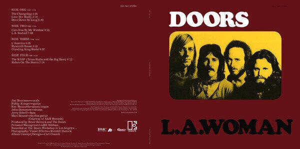 The Doors L.A. Woman (2 LP)