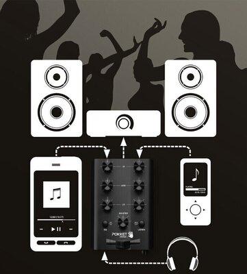 Pokket Pokketmixer DJ Mixer