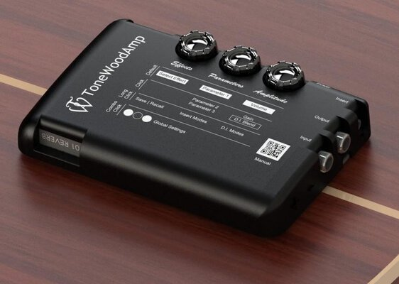 ToneWoodAmp MultiFX Acoustic Preamp DEMO