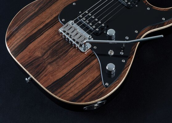 Michael Kelly Mod Shop 60 S2 Duncan Striped Ebony