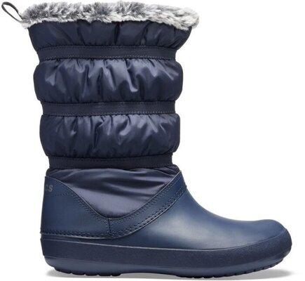 Crocs Women's Crocband Winter Boot Navy 38-39