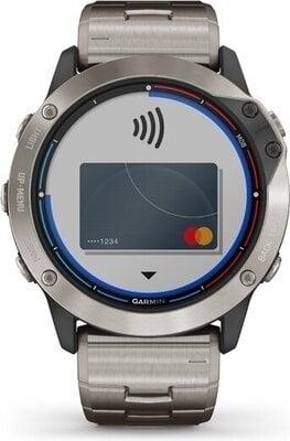 Garmin Quatix 6X Solar Titanium/Titanium