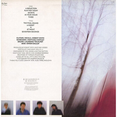 The Cure Seventeen Seconds (Picture Disc LP)