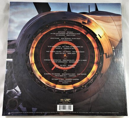 Megadeth Warheads On Foreheads (4 LP)