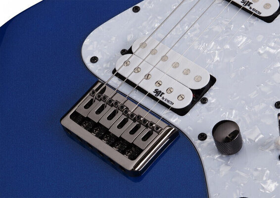 Schecter Banshee-6 SGR Electric Blue