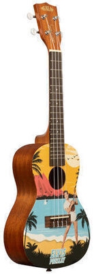 Kala Learn To Play Elvis Blue Hawaii Concert Starter Kit