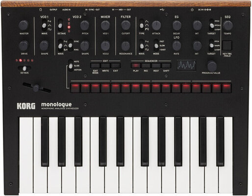Korg Monologue SET Black Synthesizer