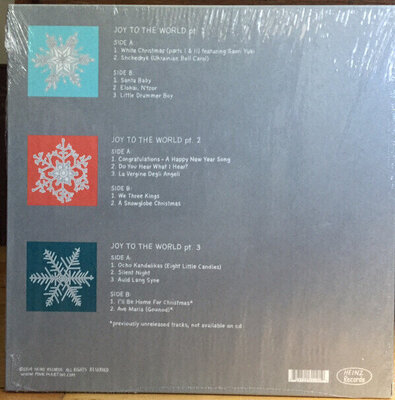 Pink Martini Joy To The World (3 LP) (Christmas)