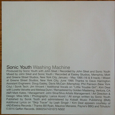 Sonic Youth Washing Machine (2 LP)