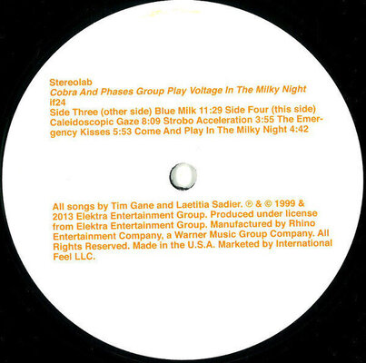 Stereolab Cobra And Phases Group Play Voltage In The Milky Night (3 LP)