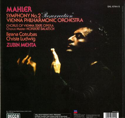 Gustav Mahler Symphony Nr. 2 (2 LP)