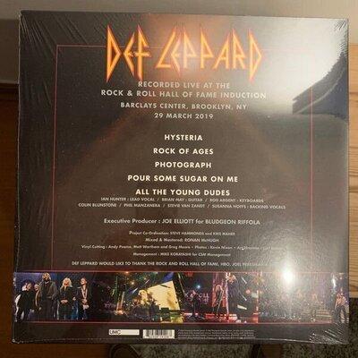 Def Leppard RSD - Rock'N'Roll Hall Of Fame 2019 (Vinyl LP)