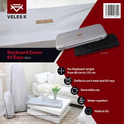Veles-X Keyboard Cover 61 Keys 89 - 123cm