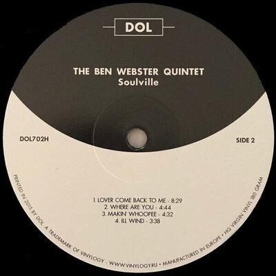 Ben Webster Soulville (SACD) Hudobné CD