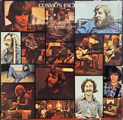 Creedence Clearwater Revival Cosmo's Factory (LP)