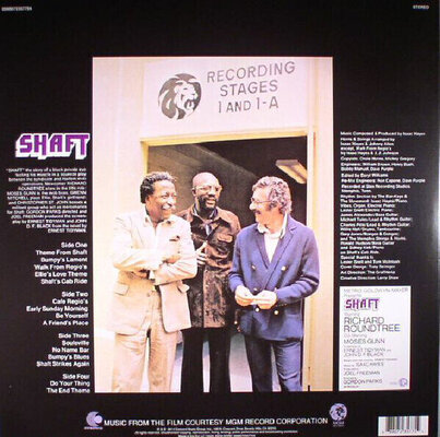 Isaac Hayes Shaft Music From the Soundtrack (2 LP)