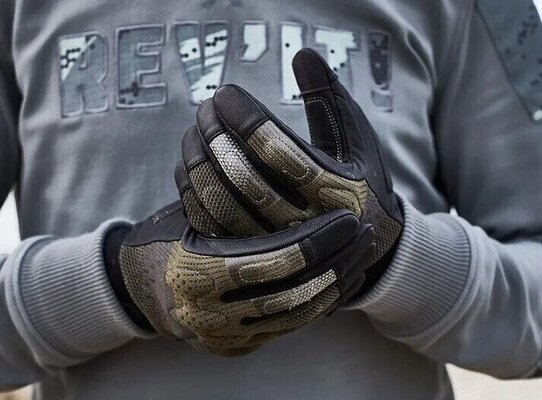 Rev'it! Gloves Volcano Sand/Black M