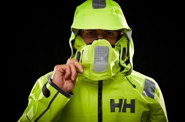 Helly Hansen Aegir Race Sailing Jacket Azid Lime XL