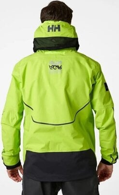 Helly Hansen Aegir Race Sailing Jacket Azid Lime 2XL