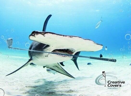 Creative Covers Cutter the Hammerhead Shark Driver Headcover