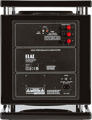 Elac SUB 2070 Black High Gloss