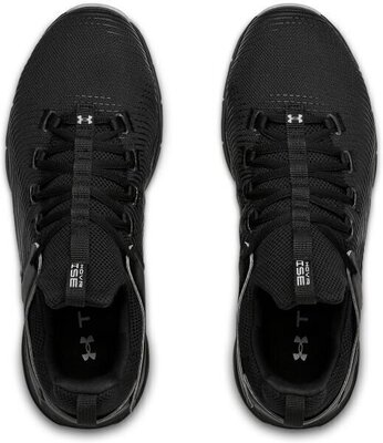 Under Armour Hovr Rise 2 Mens Shoes Black/Black/Mod Gray 12