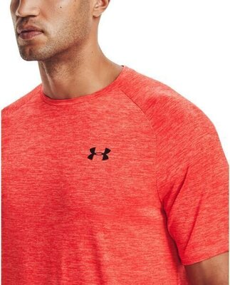 Under Armour Tech 2.0 Mens Short Sleeve Venom Red/Black 2XL