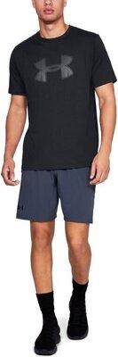 Under Armour Big Logo Mens Short Sleeve Black/Graphite S
