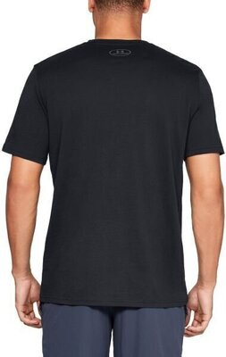 Under Armour Big Logo Mens Short Sleeve Black/Graphite L
