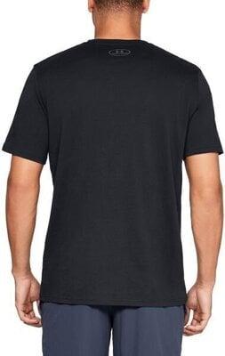 Under Armour Big Logo Mens Short Sleeve Black/Graphite 2XL