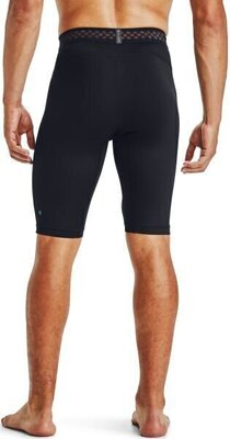 Under Armour HG Rush 2.0 Long Mens Shorts Black/Black S