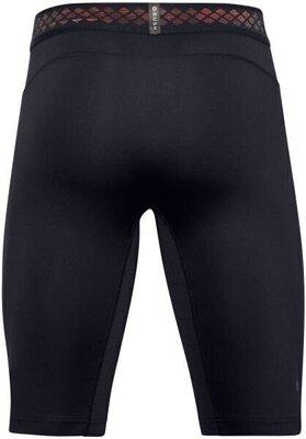 Under Armour HG Rush 2.0 Long Mens Shorts Black/Black 2XL