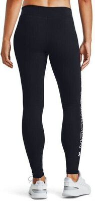 Under Armour Favorite Womens Leggings Black/White/White M