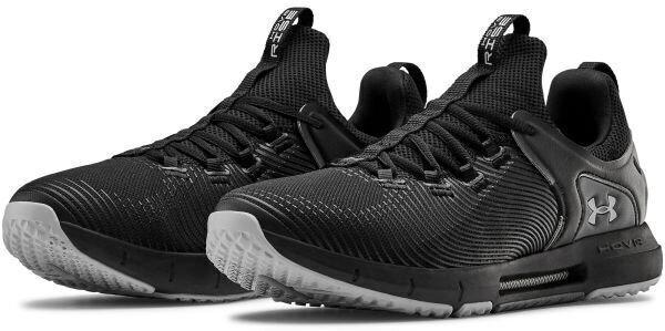 Under Armour Hovr Rise 2 Mens Shoes Black/Black/Mod Gray 10.5