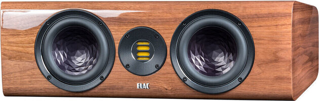 Elac Vela CC 401 Walnut High Gloss