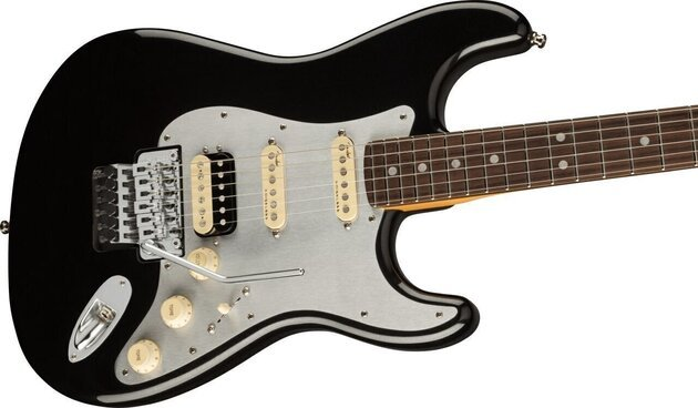 Fender Ultra Luxe Stratocaster FR HSS RW Mystic Black