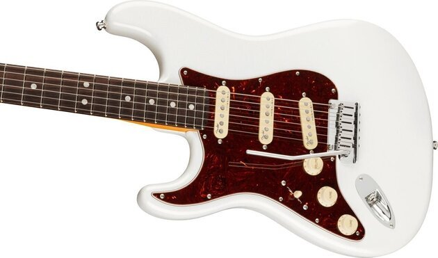 Fender American Ultra Stratocaster LH RW Arctic Pearl