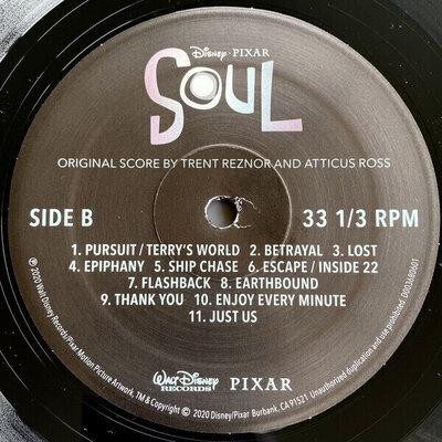 Trent Reznor & Atticus Ross Soul (Vinyl LP)