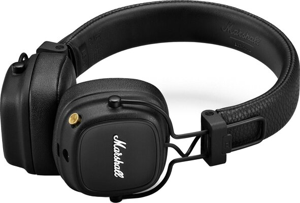Marshall Major IV Black Bluetooth Wireless On-ear headphones