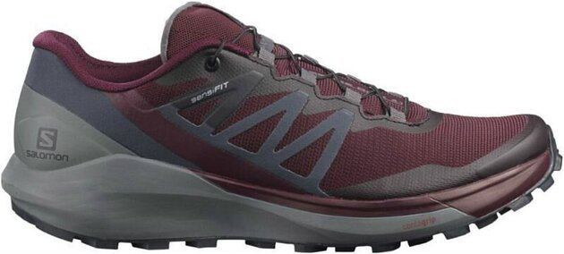 Salomon Sense Ride 4 W Wine Tasting/Quiet Shade/Ebony 5 UK