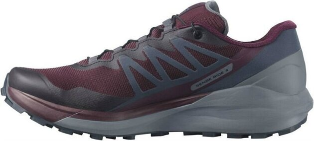 Salomon Sense Ride 4 W Wine Tasting/Quiet Shade/Ebony 6 UK